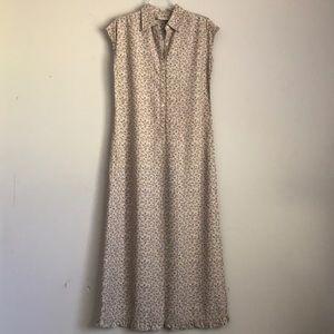 LIZ CLAIBORNE long floral dress
